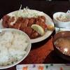 夢屋 - 料理写真:チキンかつ