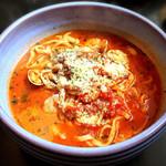 ナポリ亭 - 料理写真:トマトのスープパスタ