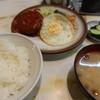 富士川食堂 - 料理写真:ハンバーグ定食