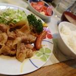 富士川食堂 - 本日のサービス定食