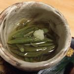 更科すず季 - 料理写真:おまかせ会席 盛り込み料理 秋田の蓴菜