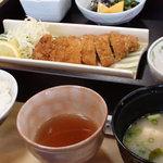 鯖島食堂 - むつみ豚の豚カツ