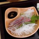 鯖島食堂 - 新鮮なお刺身