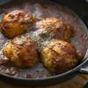 Grill & Kitchen かぼちゃの馬車 - 料理写真:ポテトサラダを焼いちゃいました