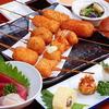 串膳 - 料理写真:串かつ と お造りのコース