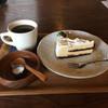 マジック×マレット - 料理写真:ケーキセット(オレオチーズケーキとオーガニック珈琲)800円