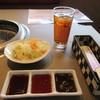 のむらや - 料理写真:サラダ&ウーロン茶