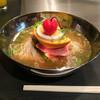 三千里 - 料理写真:ミニ冷麺♩