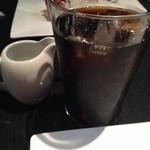 カフェ・コムサ - アイスコーヒー。