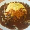 オムライス&cafe STYLE - 料理写真:キノコのデミグラスソースオムライス