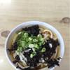 勢野うどん - 料理写真:ひやかけうどん