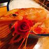 えびかに家 - 料理写真:バラが添えられてました。