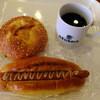 コペイカ - 料理写真:明太ポテト、あらびきフランクをイートイン