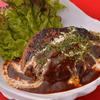 LINDA - Japanese Bar & Restaurant - - 料理写真:自家製シェフの手ごねハンバーグ
