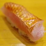 Ishiyamazushi - 料理写真:金目鯛