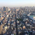 37999147 - こんな角度で街並みが。。。東京湾まで見えます