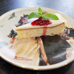 ポートマンズカフェ - ポートマンズチーズケーキ(ランチに+200円)