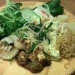 旬菜食健 ひな野 - 野菜から攻めます(^_^)v