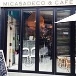 Micasadeco&Cafe - 外から見ると開いているかそうかわかりにくい!