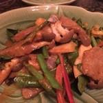 38010400 - 『パット キョワーン(牛肉)』様(1480円)※牛肉と季節の野菜のグリーンカレー炒め様