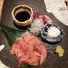 山葵 - 料理写真:鶏刺し盛り合わせ