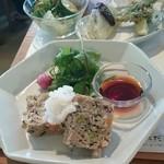 38014384 - 野菜たっぷりのミートローフ