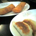 栄蘭 - もっちり餃子と春巻き