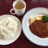 キッチンカルガモ - 料理写真:ハンバーグランチ