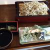 伊豆高原体験の里 食事処あかざわ - 料理写真:そば打ち体験 (天ぷら付き) 2550円