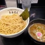 江戸前煮干中華そば きみはん - 梅香るつけ麺