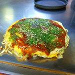 お好み焼きくすのき - 料理写真:肉玉そば(650円)