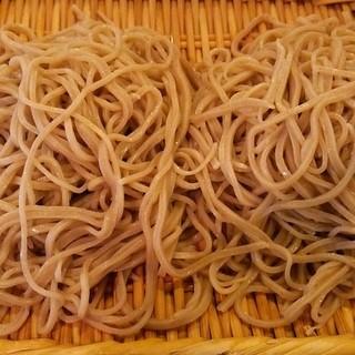 吾妻橋薮そば - 料理写真:もりそば 中 (1300円)