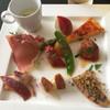 イル・クッチョロ - 料理写真:前菜 この品数はすごい