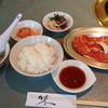 焼肉 金城 - 料理写真:カルビ定食1400円