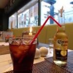巨人のシチューハウス - コーラとコロナのお2人