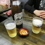 深川 伊勢屋 - 瓶ビール560円
