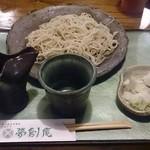 夢創庵 - 盛りそば(¥900-)