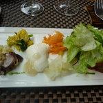 フランス食堂 フーヴェール - 前菜盛り合わせ(ラタトゥイユなし)