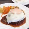 ささのや白金カフェレストラン - 料理写真:ランチハンバーグ