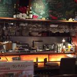 肉とワイン bonanza - 店内!