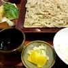 更科 京屋 - 料理写真:ランチB大盛(天もり・白飯付)¥750-