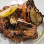 パッパトリア - 鶏もも肉の炭火焼