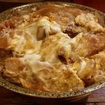更科 - 料理写真:カツ丼(大盛り)