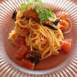 トラットリア パパミラノ - トマトの冷製パスタ