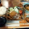 ぶんぶくちゃがま - 料理写真:昔食堂の王道、しょうが焼き570円ライスセット260円