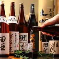 プレミア日本酒や熱燗専用酒をご用意。