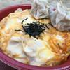 鳥政 - 料理写真:シュウマイ オンザ 親子丼