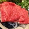 おやど楽 - 料理写真:しゃぶしゃぶのお肉です