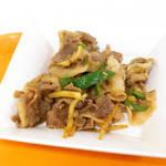 銀杏メトロ食堂 - 豚肉ピーマン炒めは、生姜焼きの野菜強化版。普通に美味しいです