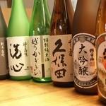 越後の蔵 和心づくし あさひ山 - 料理写真:久保田で知られる朝日酒造の銘酒たち